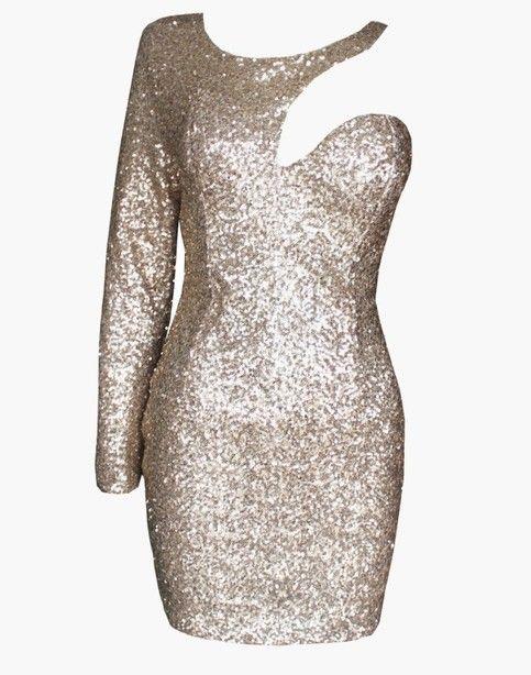 sequin dress Oscar Dress party xmas dress from FE CLOTHING
