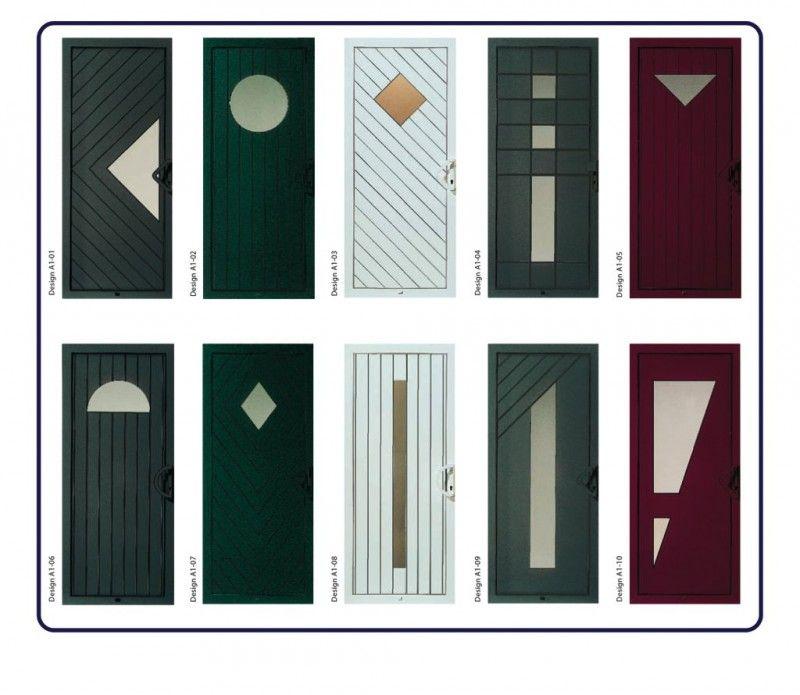 Porte d 39 entree moderne serie design portes vente de fen tre porte volet la garde var premium - Porte fenetre design ...