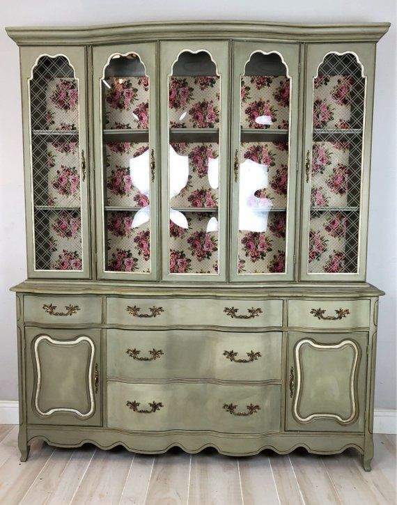 Painted Furniture French Country, French Country China Cabinet