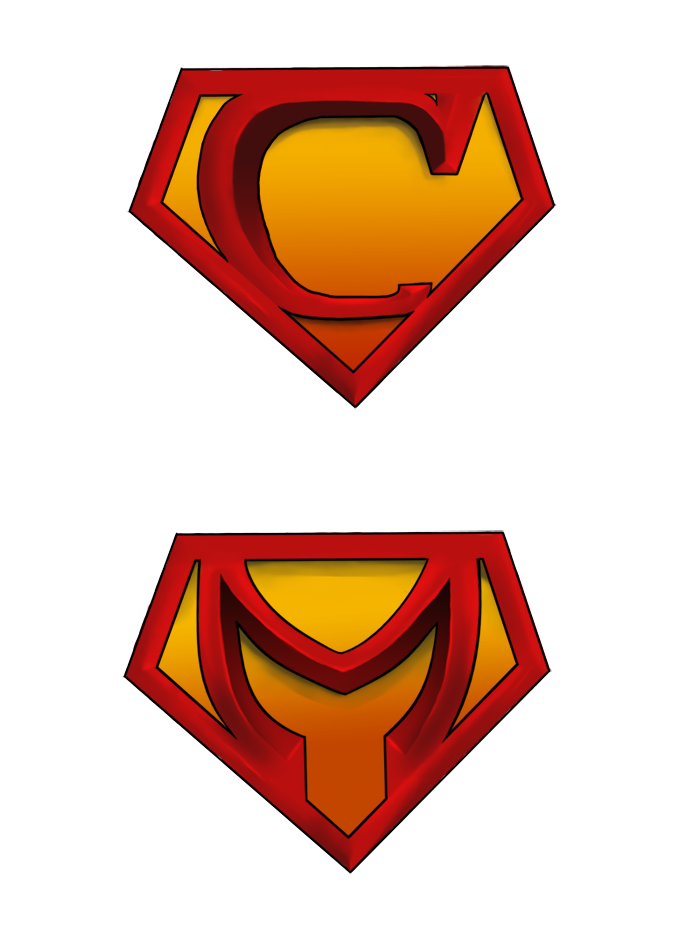 gallery for u003e superman logo with different letters h rh pinterest com