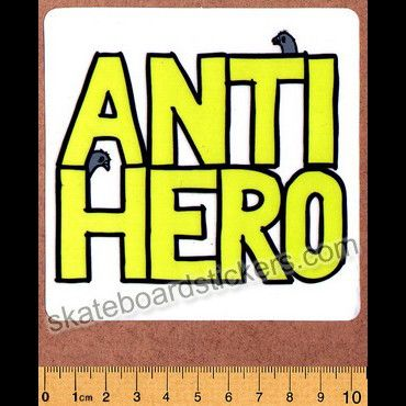 Anti Hero Skateboard Sticker