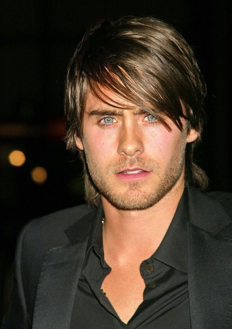 long hairstyles for men with round faces mens