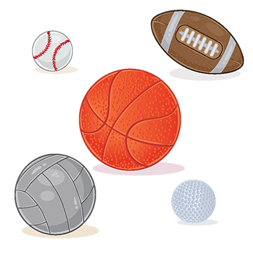 Set Of Sports Balls Isolated On White Background Ball Basketball Isolated Png And Vector With Transparent Background For Free Download Golf Logo Design Sports Balls Baseball Vector