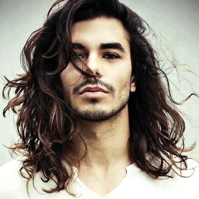 Pin By Bart On Men S Hairstyle Hair And Beard Styles Mens Hairstyles Long Hair Styles