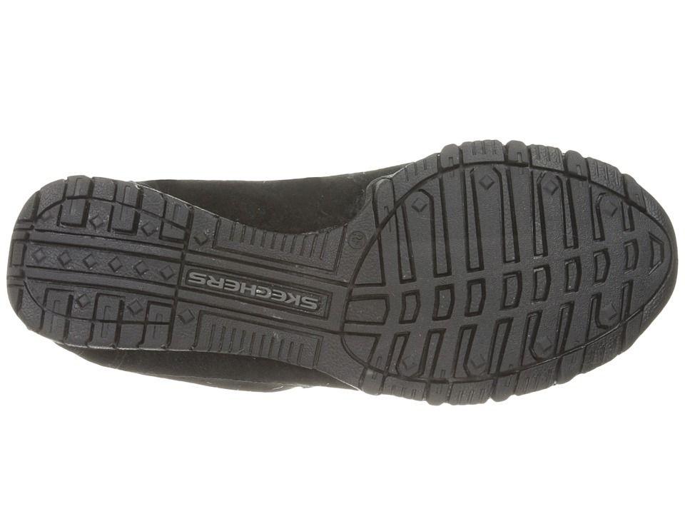 970436c125a8 SKECHERS Modern Comfort Bikers Curbed Women s Shoes Black Black Shoes