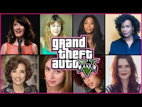 gta 5 characters voice actors