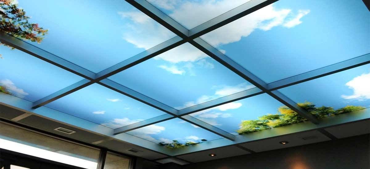 Image Result For Art On Ceiling Hanging Boxes Drop Ceiling Lighting Ceiling Light Covers Sky Ceiling