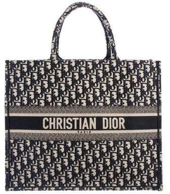 b6171e8fccad Christian Dior 2018 Oblique Book Tote w  Tags