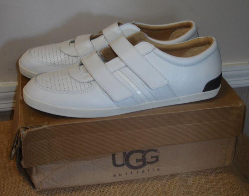 NIB UGG B-Bronx Velcro Tab Leather