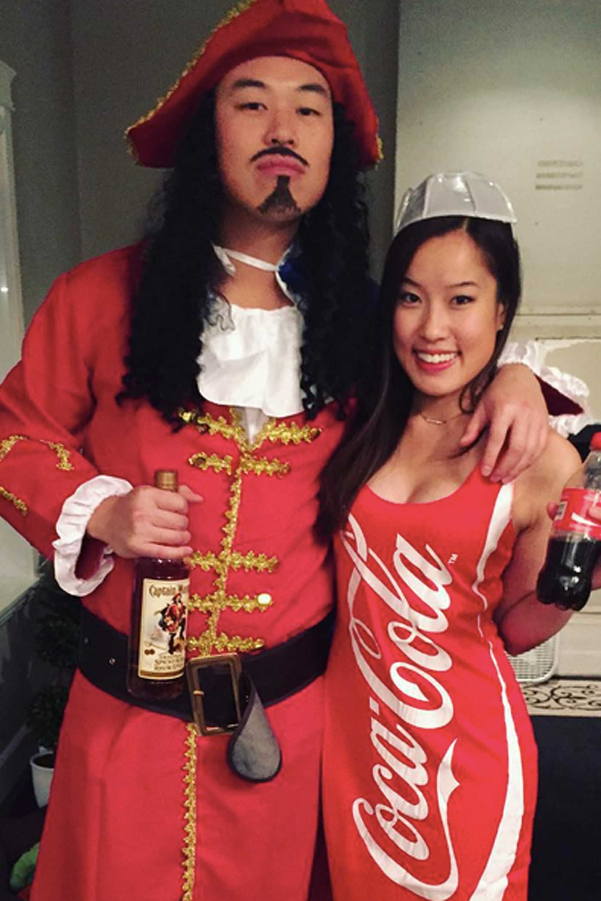 42 Adorably Cheesy Couples Halloween Costumes  Coke -6237