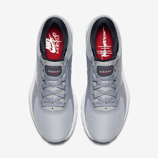 the latest 61b5c eda96 Chaussure Nike Air Max Zero Pas Cher Femme Femme Argent Metallique Rouge  Universite Noir Argent Metallique