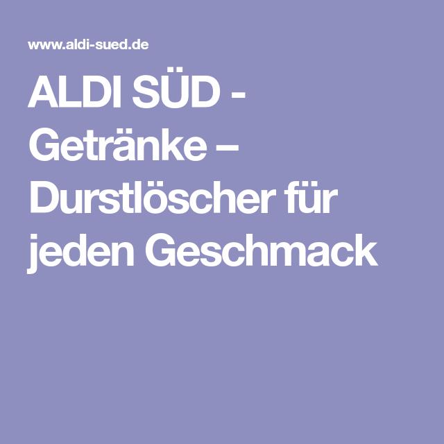 ALDI SÜD - Getränke – Durstlöscher für jeden Geschmack | #27 #JoeL ...