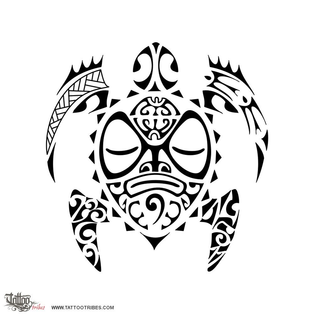 Custom Maori Tattoo Designs: Tattoo Of Whakahau, To Shelter, Protect Tattoo