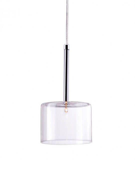 Clear Glass Pendant Light Modern Furniture Brickell Collection Clear Glass Pendant Light Lamp Glass Pendant Light