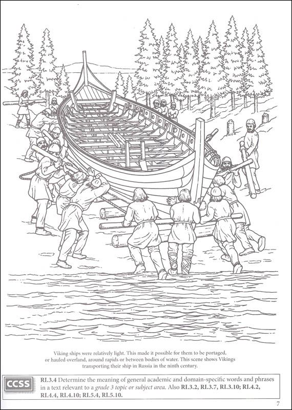 Story of the Vikings Coloring Book (Boost Series) (006072