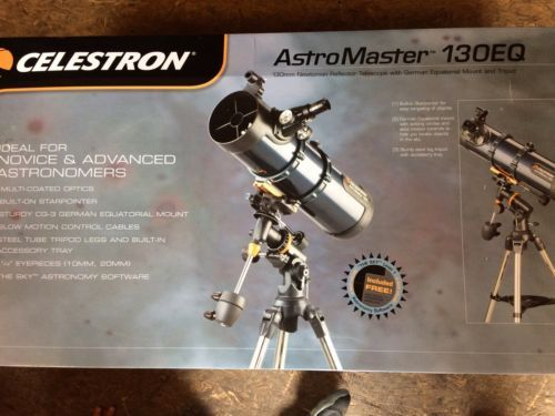 Celestron Astromaster 130EQ AstroTelescope https://t.co/mpXWGXsZQW https://t.co/2u4wxOmSAS