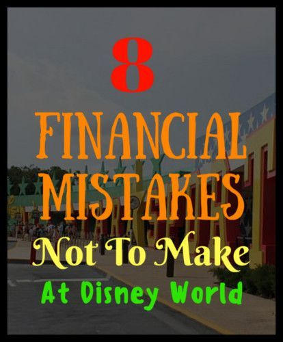 8 Financial Mistakes