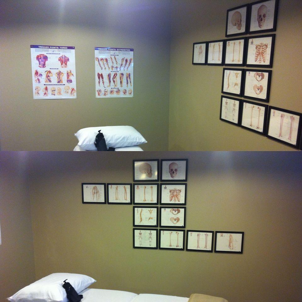 Decorating the walls of my massageclinic hamont eglenko