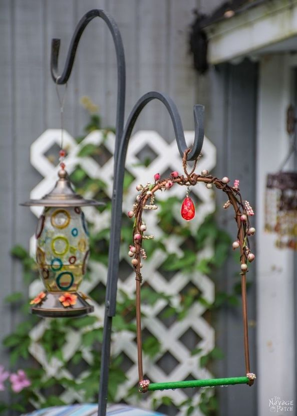 Top 27 Diy Ideas How To Make A Perfect Living Space For Pets: Hummingbird Swing, Bird House Kits, Hummingbird