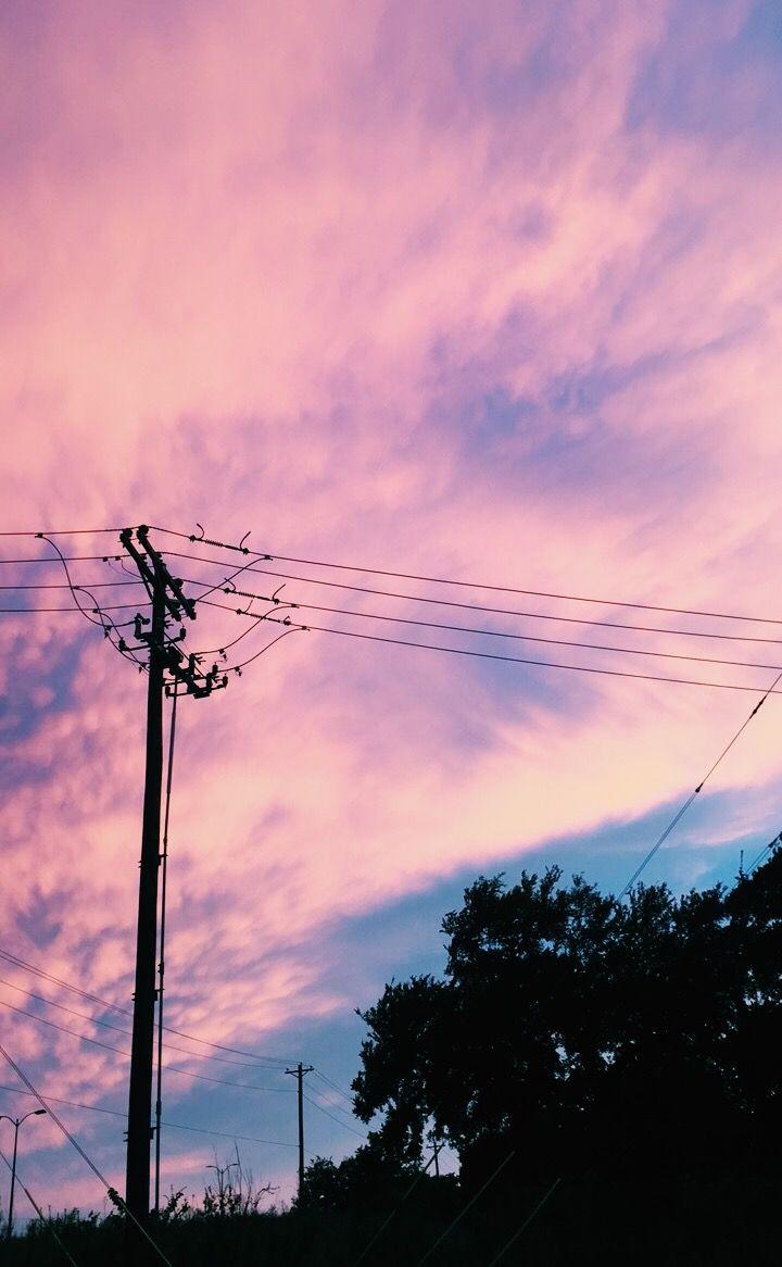 Pin By 𝒜𝓇𝓎𝒶 On Lavender Skies In 2019 Sky Aesthetic
