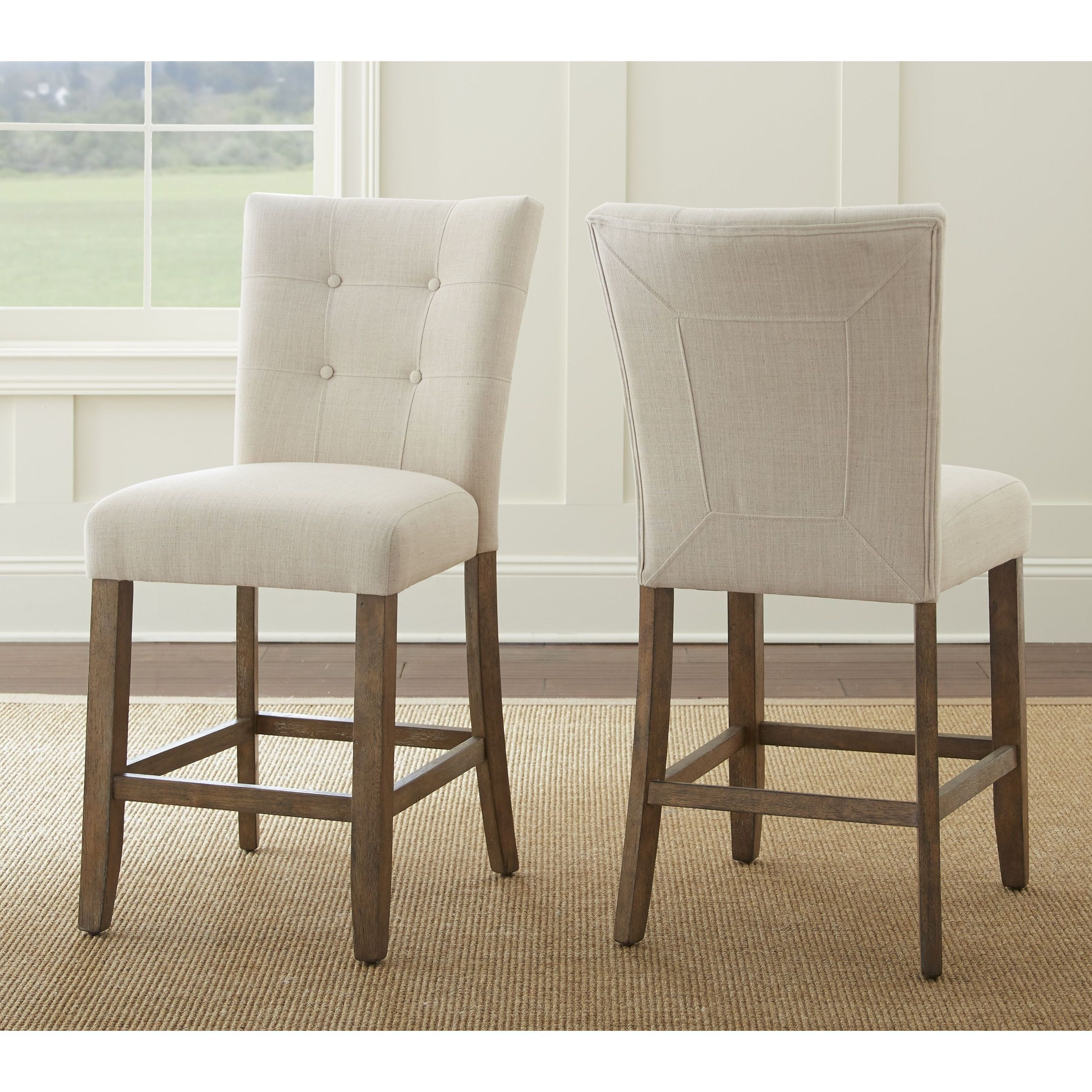 The Gray Barn Brush Creek Upholstered Counter Height Dining Chair Set Of 2 Luxury Dining Room Dining Chairs Counter Height Dining Sets
