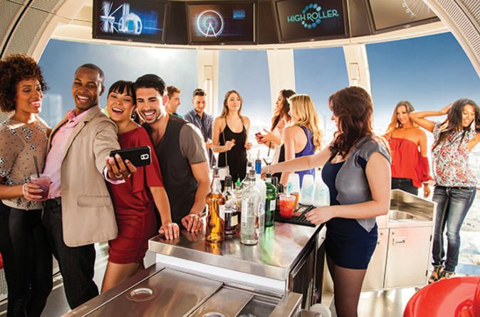 Happy Hour on The High Roller at The LINQ | Activities, Excursions ...