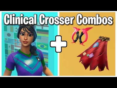 10 Best Clinical Crosser Skin Backbling Combos Soccer Skin Combos Fortnite Fortnite Epic Games Fortnite Youtube Videos