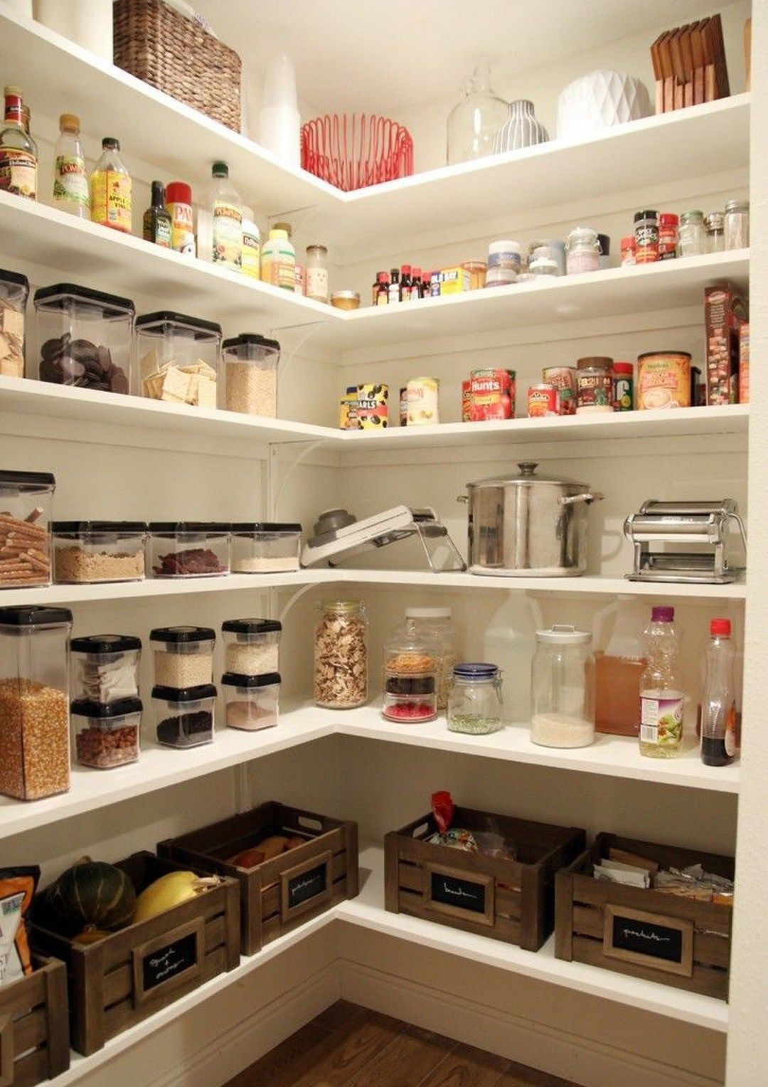 38 DIY Farmhouse Pantry Shelves Farmhouse Room