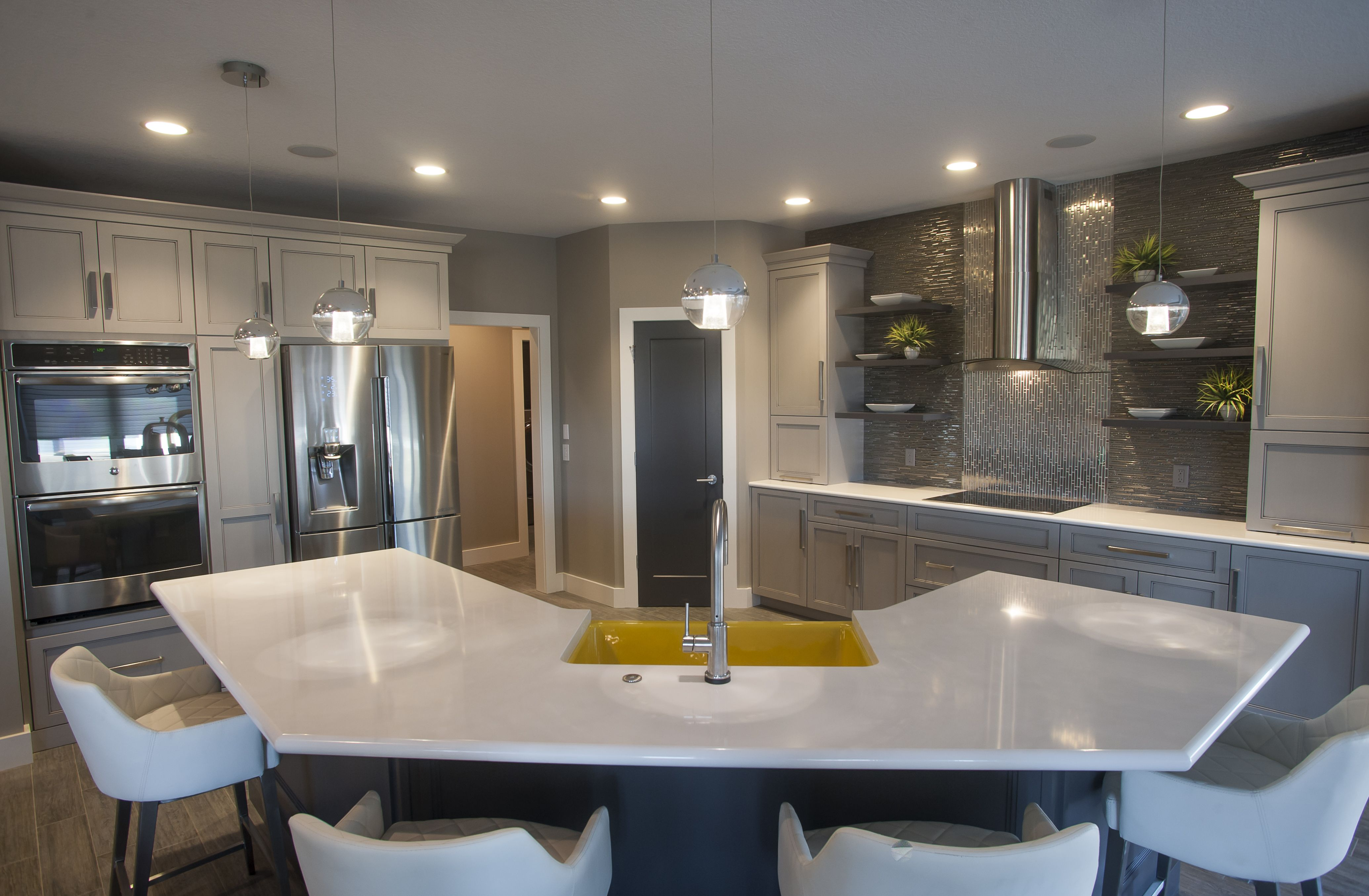 Familiarity Meets Forward Thinking That S How Interior Designer Kayla Hoffman Describes The Design Aesthetic Kitchen Design Ikea Kitchen Modern Kitchen Design
