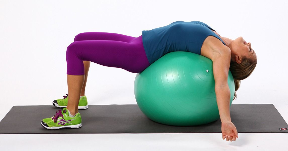 Size Does Matter! Find the Perfect Exercise Ball For You & exercises