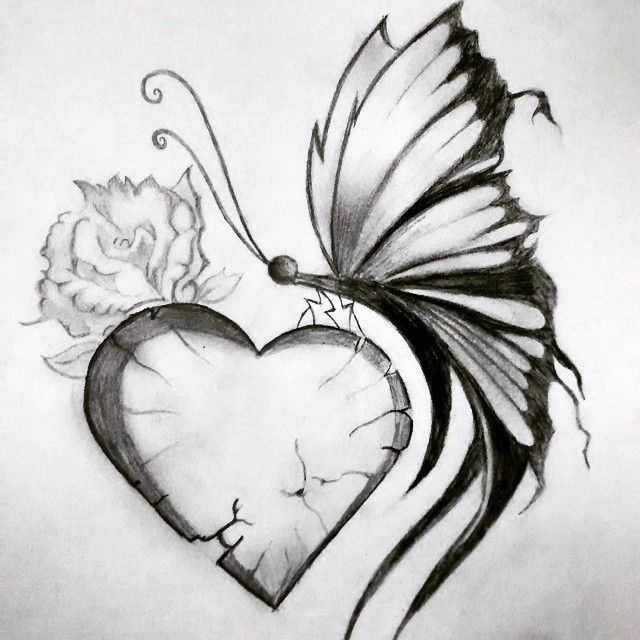 Pretty Broken Hearts Drawings B Broken B Art B Heart Drawing