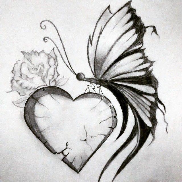 pretty broken hearts drawings broken art heart drawing on
