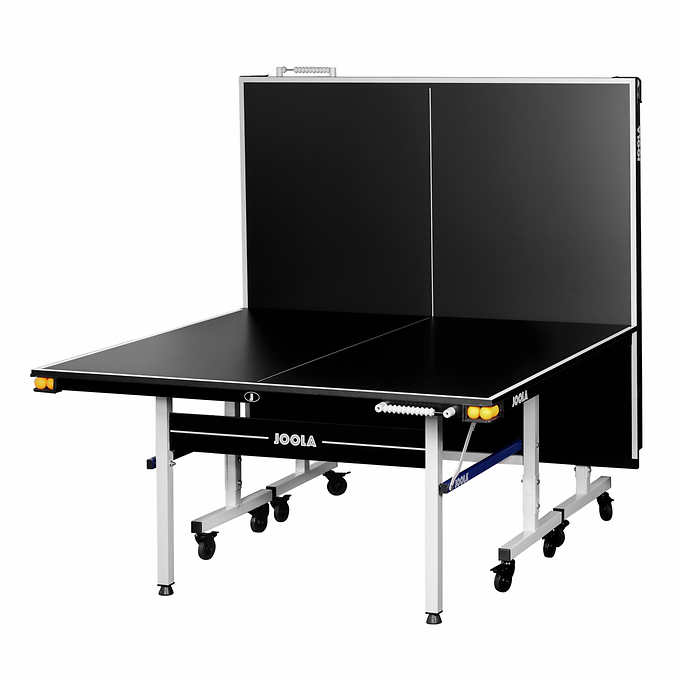 Joola Noctis 19mm Table Tennis Table With Rackets And Balls Table Tennis Compact Storage Rackets
