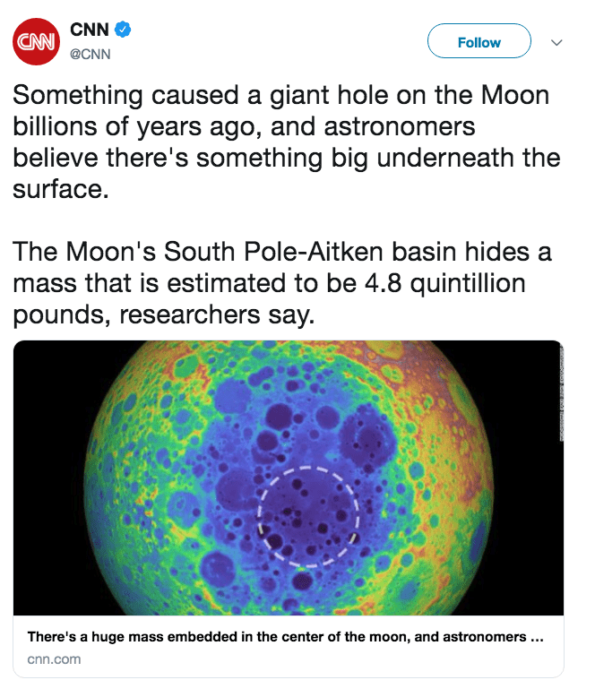 Astronomers Discover Something Buried Under The Moon Destiny Fans Got Jokes Destiny Fun Facts Weird Facts