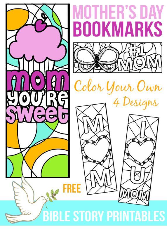 mother 39 s day bookmarks homeschool printable worksheets mothers day crafts preschool mother. Black Bedroom Furniture Sets. Home Design Ideas