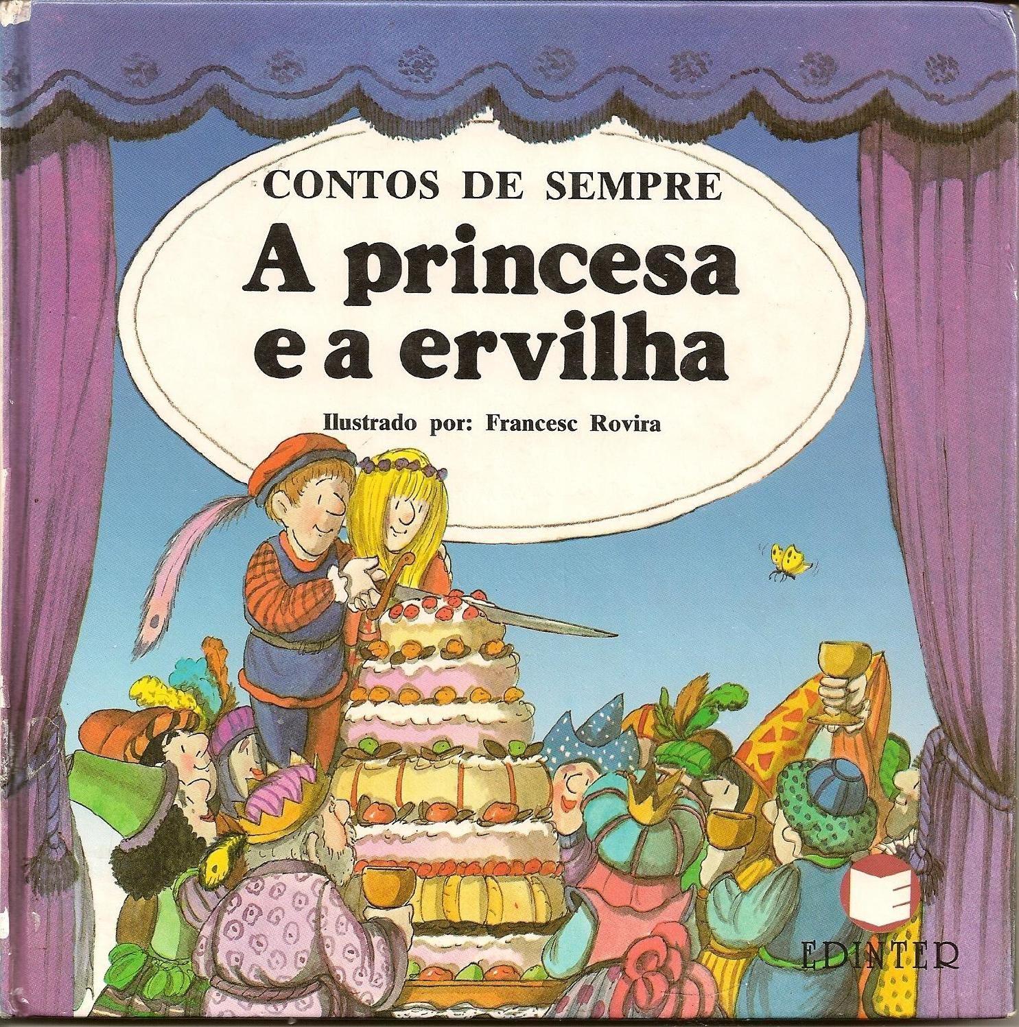 A Princesa E A Ervilha Com Imagens Historias Infantis