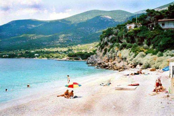 Athens Greece Beaches Nea Makri Next Beach Grand Lagonissi