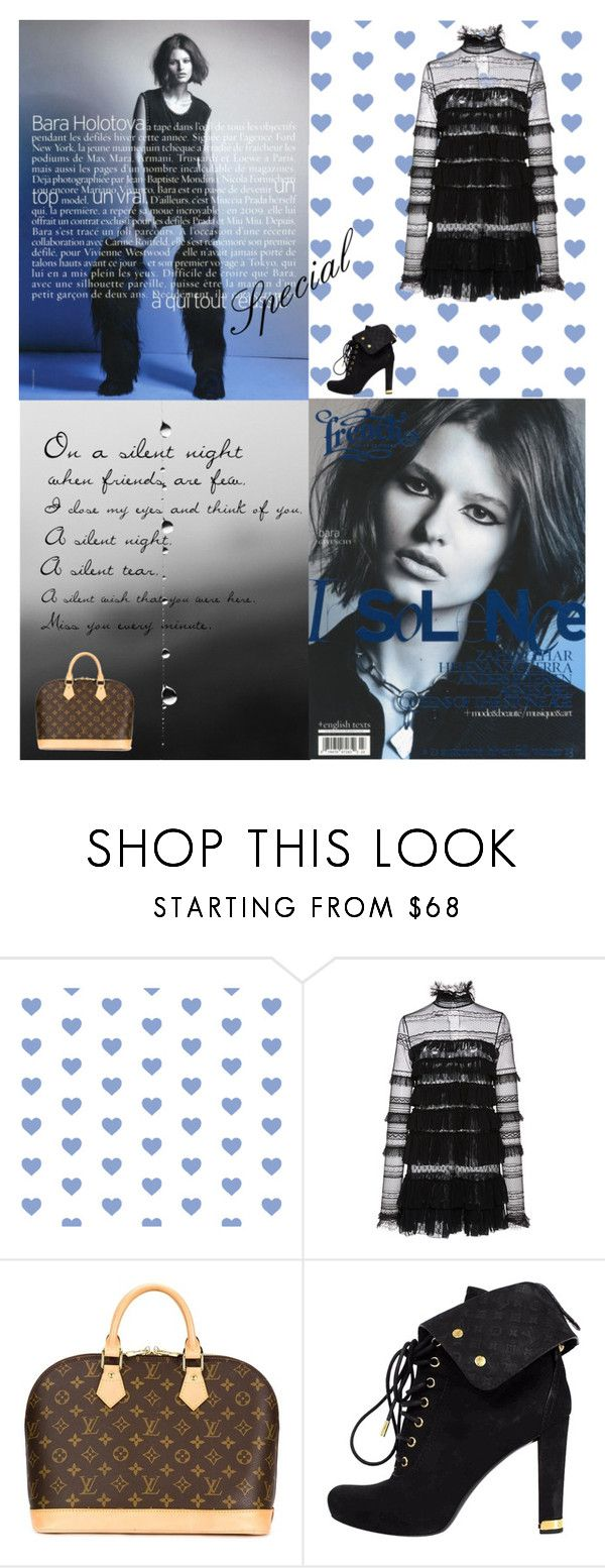 """""""Silent Night"""" by adelinetaylor ❤ liked on Polyvore featuring Isabel Marant and Louis Vuitton"""