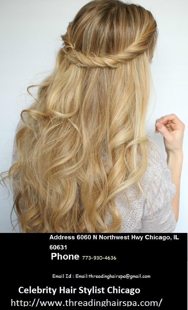 Celebrity Hair Stylist Chicago At Threading Hair Spa Salon