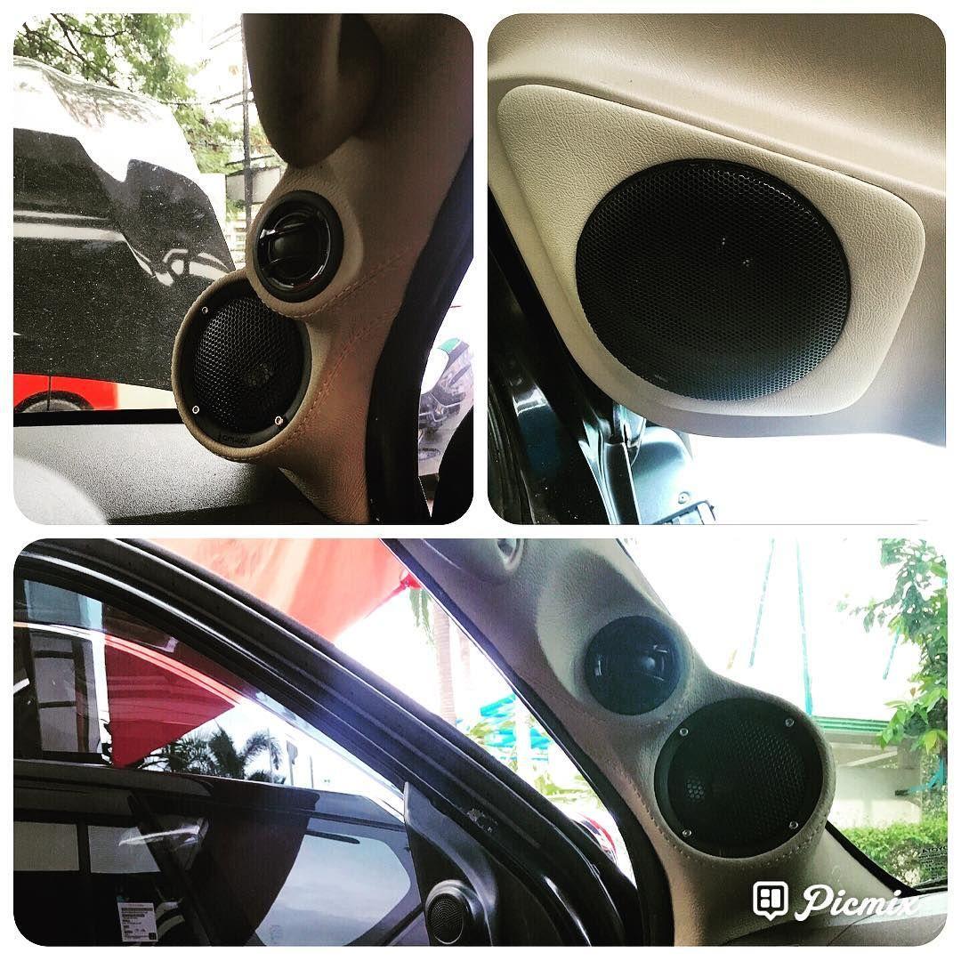 Sound Upgrade Toyota Fortuner Using 3 Way Flux Speaker Flux Toyota