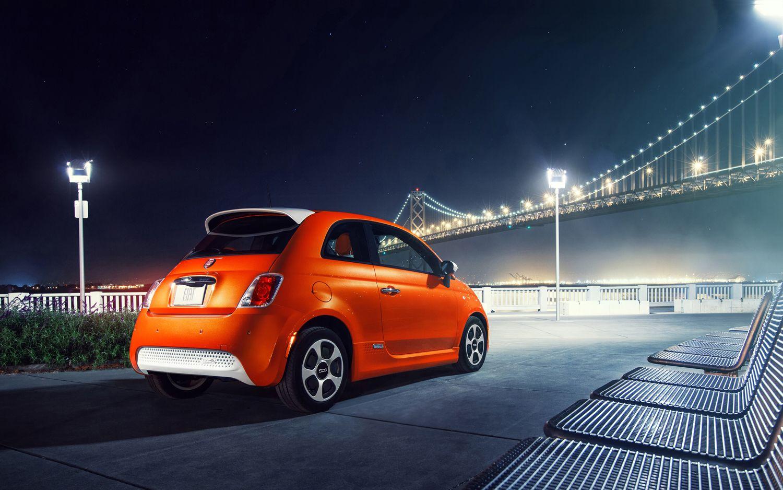 2013fiat500eelectriccar5 Fiat 500e, Fiat 500c, Fiat