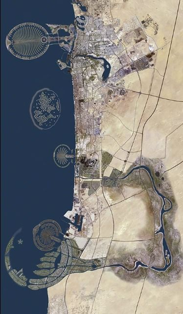 Aerial view of dubai wonders of the world pinterest united aerial view of dubai gumiabroncs Image collections