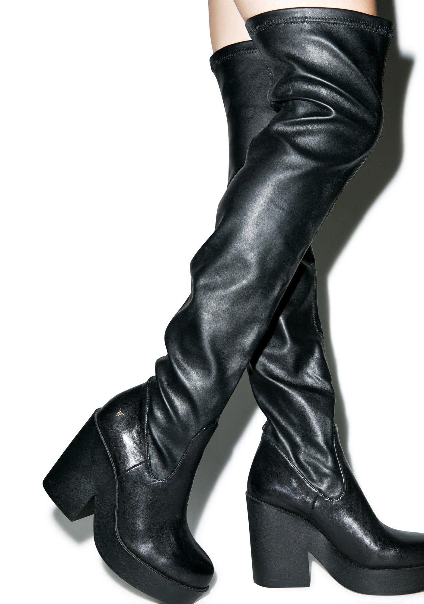 Seb Thigh High Boots | Boots, Thigh