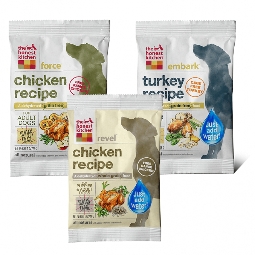 honest kitchen dog food samples