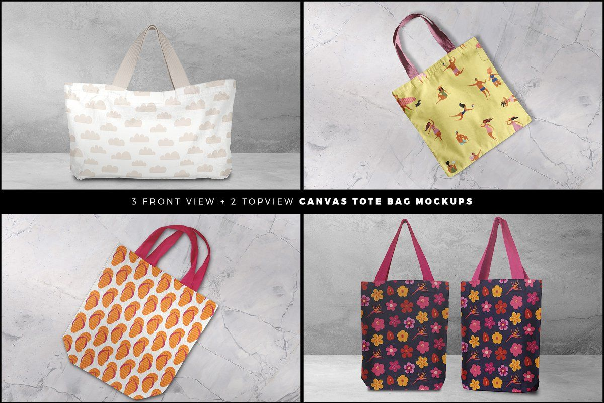 Download Tote Bag Mockup Set In 2020 Tote Bag Bag Mockup Small Tote Bags