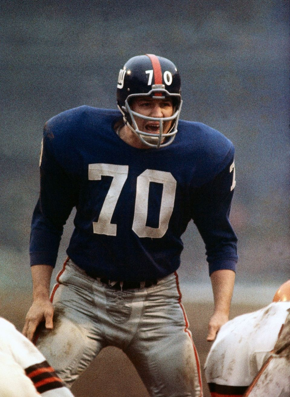Sam Huff NY Giants Football Pinterest Nfl football