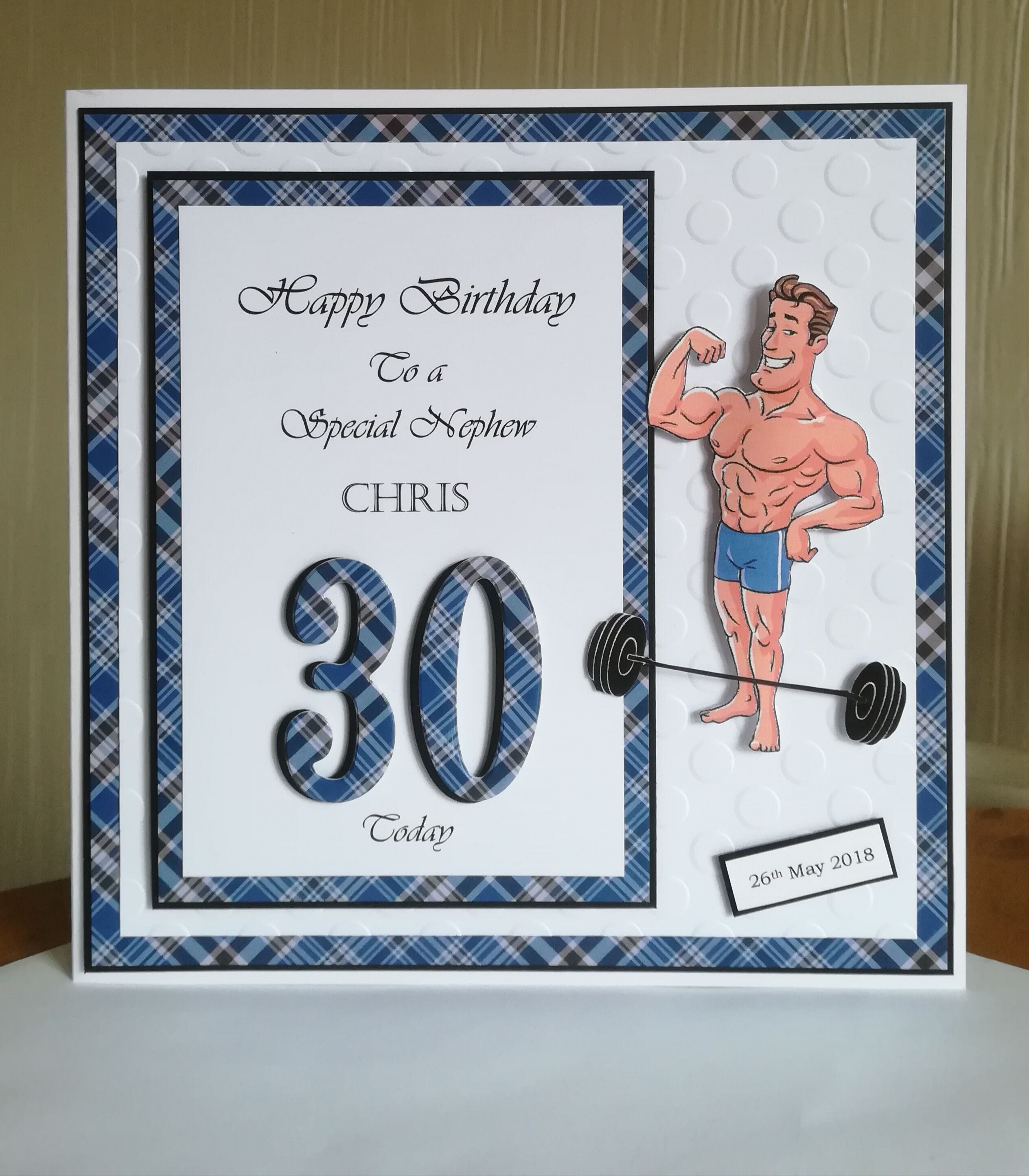 WEIGHTLIFTER WORD ART Personalised Gift Present Him Mens Boyfriend Brother Boy