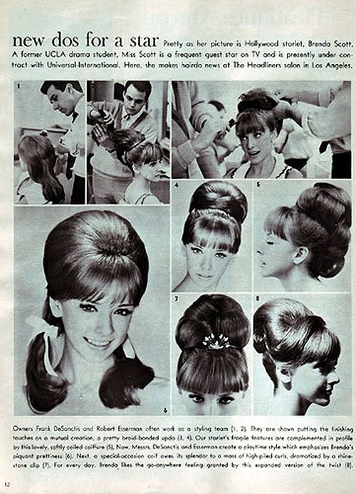 Photo By Alexandra Tyler 1960s Hair Vintage Hairstyles 60s Hair