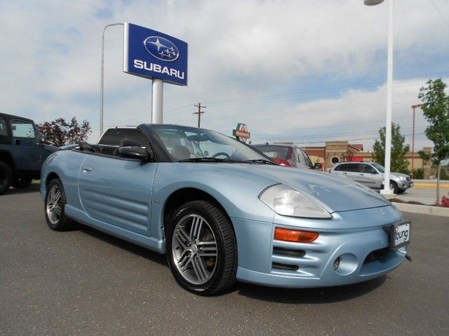 2004 Mitsubishi Eclipse Spyder (just like my old baby, except it's
