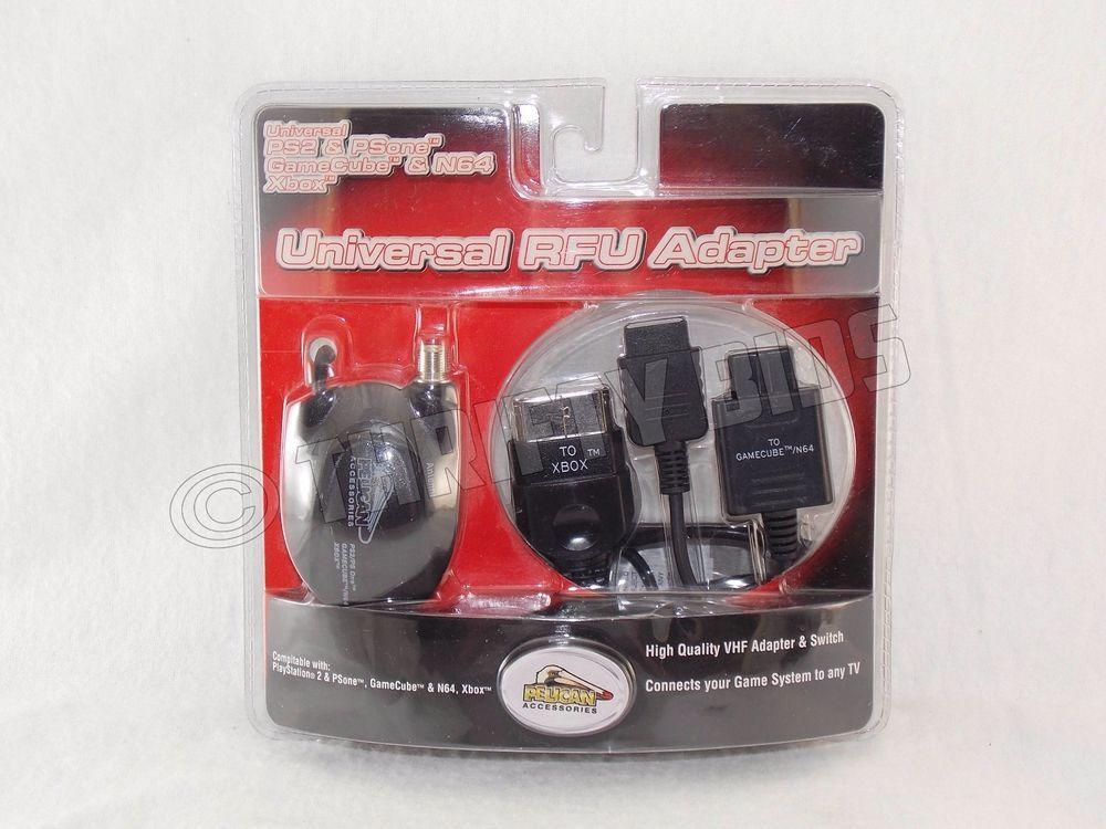 Hook up n64 rfu adapter